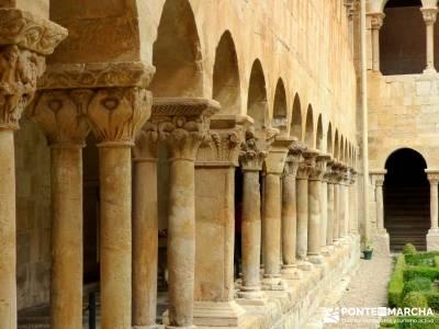 Yacimiento Clunia Sulpicia - Desfiladero de Yecla - Monasterio Santo Domingo de Silos - Claustro sin